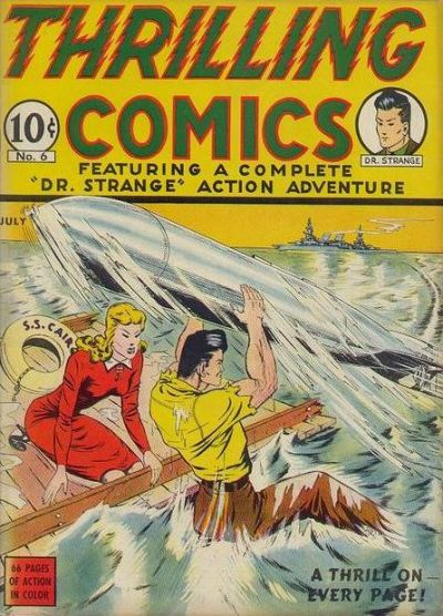 Cover for Thrilling Comics (Pines, 1940 series) #v2#3 (6)