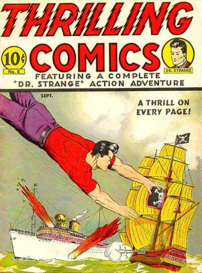 Cover for Thrilling Comics (Pines, 1940 series) #v3#2 (8)