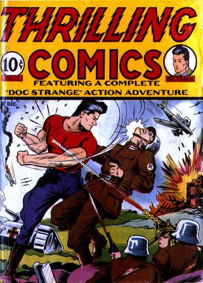 Cover for Thrilling Comics (Pines, 1940 series) #v?#2 (11)
