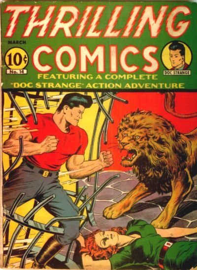 Cover for Thrilling Comics (Pines, 1940 series) #v5#2 (14)