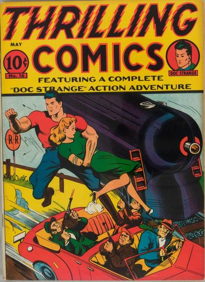 Cover for Thrilling Comics (Pines, 1940 series) #v6#1 (16)