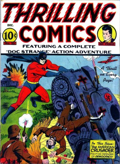 Cover for Thrilling Comics (Pines, 1940 series) #v8#2 (23)