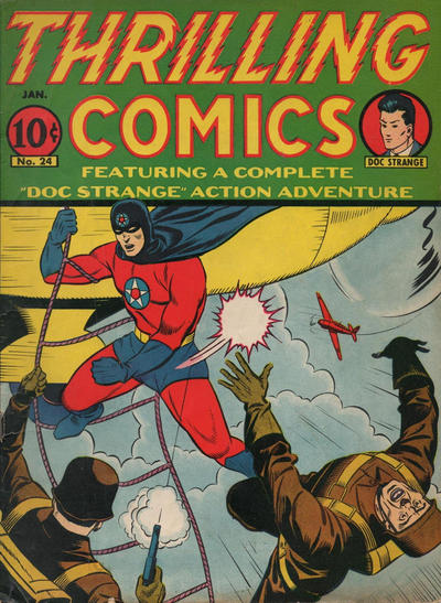Cover for Thrilling Comics (Pines, 1940 series) #v8#3 (24)