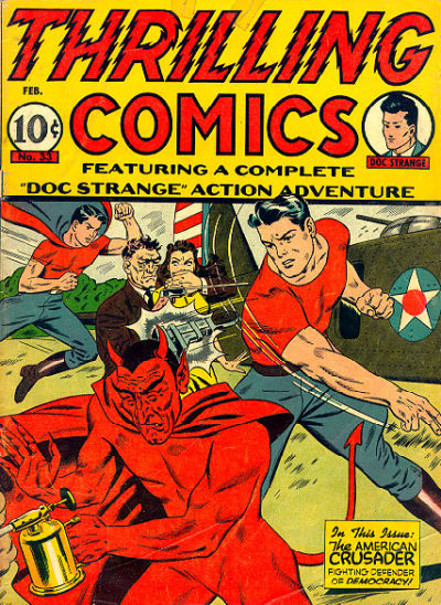 Cover for Thrilling Comics (Pines, 1940 series) #v11#3 (33)