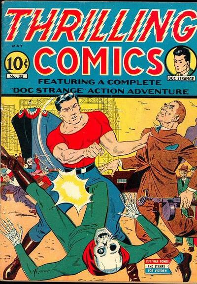 Cover for Thrilling Comics (Pines, 1940 series) #35