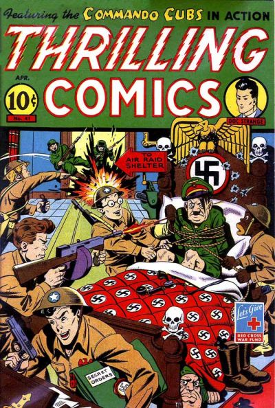 Cover for Thrilling Comics (Pines, 1940 series) #41