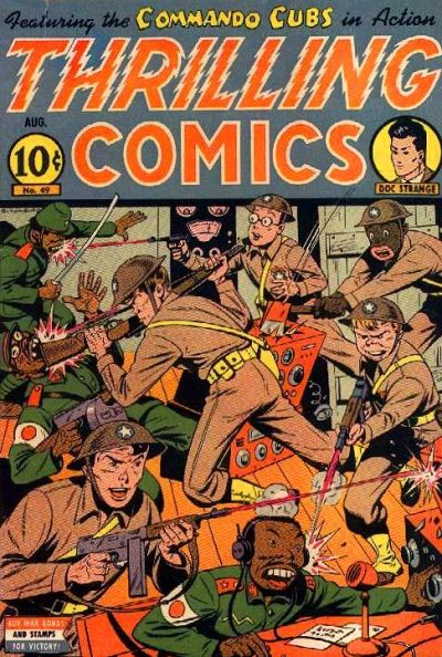 Cover for Thrilling Comics (Pines, 1940 series) #49