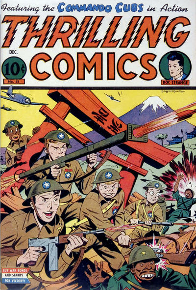 Cover for Thrilling Comics (Pines, 1940 series) #51