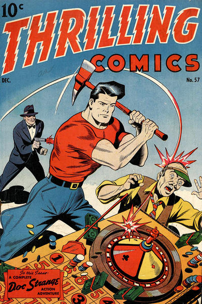 Cover for Thrilling Comics (Pines, 1940 series) #57