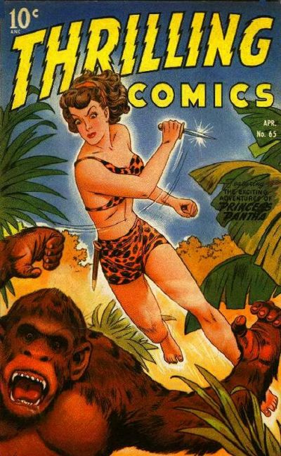 Cover for Thrilling Comics (Pines, 1940 series) #65