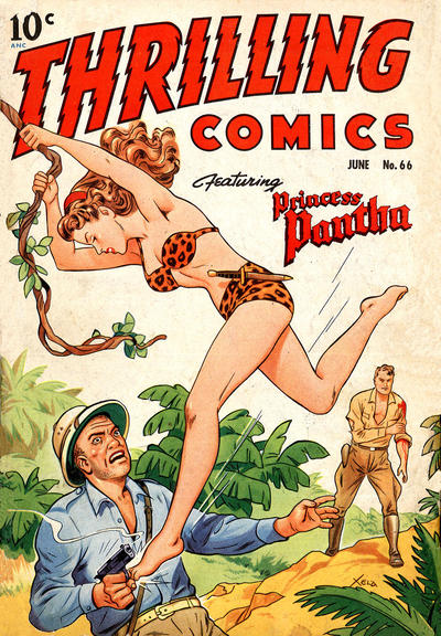 Cover for Thrilling Comics (Pines, 1940 series) #66