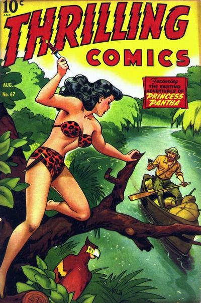 Cover for Thrilling Comics (Pines, 1940 series) #67