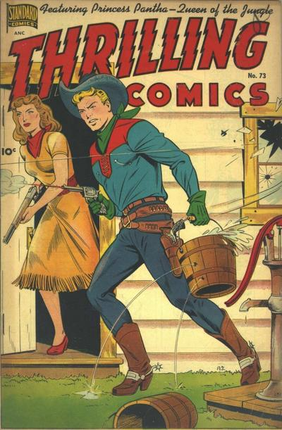 Cover for Thrilling Comics (Pines, 1940 series) #73