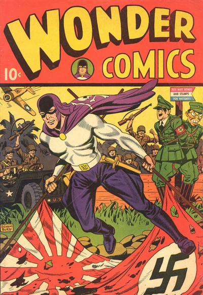 Cover for Wonder Comics (Pines, 1944 series) #1
