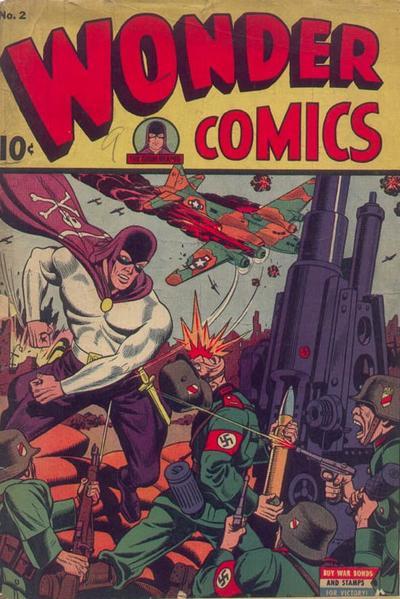 Cover for Wonder Comics (Pines, 1944 series) #2
