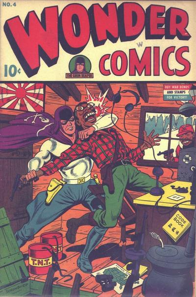 Cover for Wonder Comics (Pines, 1944 series) #v2#1 (4)
