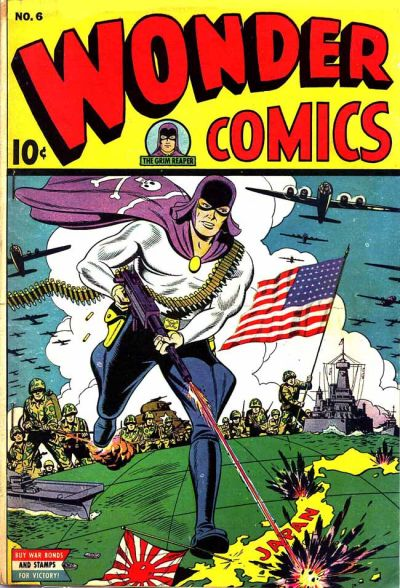 Cover for Wonder Comics (Pines, 1944 series) #v2#3 (6)