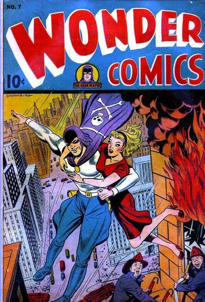 Cover for Wonder Comics (Pines, 1944 series) #7