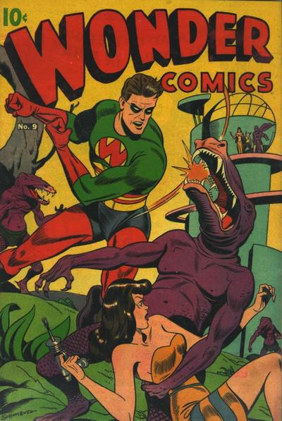Cover for Wonder Comics (Pines, 1944 series) #9