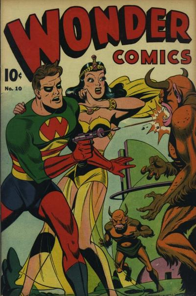 Cover for Wonder Comics (Pines, 1944 series) #10