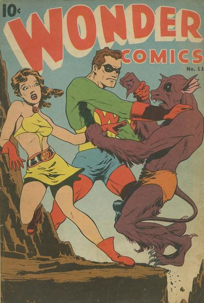 Cover for Wonder Comics (Pines, 1944 series) #11