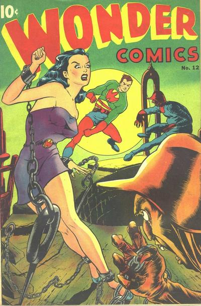 Cover for Wonder Comics (Pines, 1944 series) #12