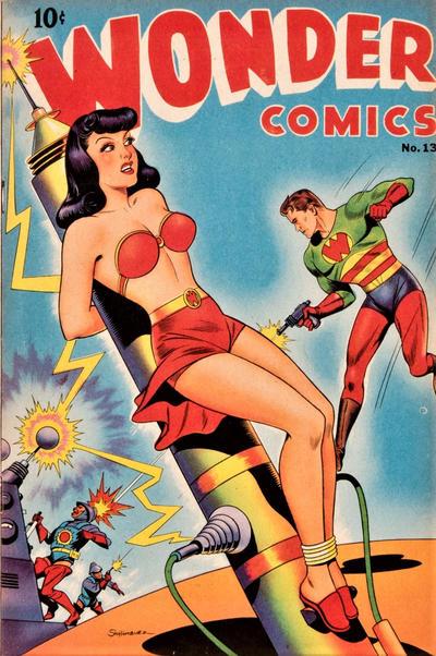 Cover for Wonder Comics (Pines, 1944 series) #13