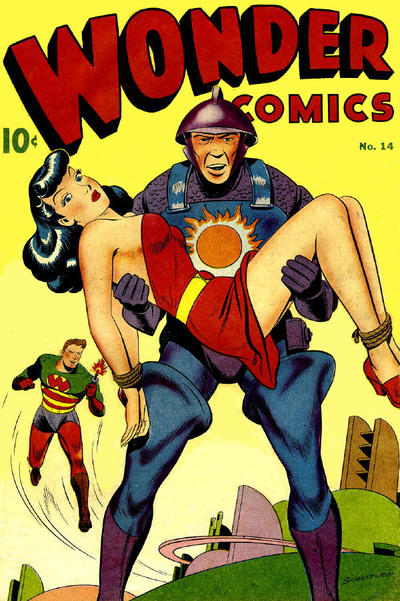 Cover for Wonder Comics (Pines, 1944 series) #14