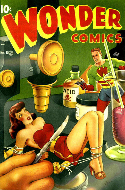 Cover for Wonder Comics (Pines, 1944 series) #15