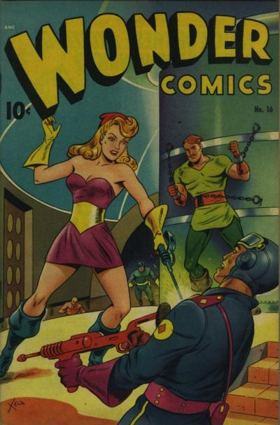 Cover for Wonder Comics (Pines, 1944 series) #16