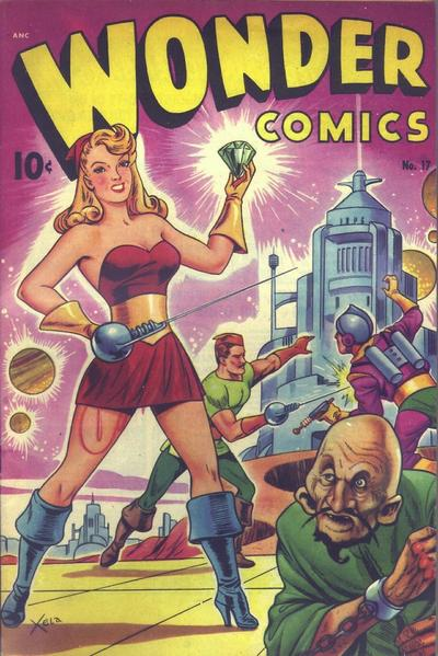 Cover for Wonder Comics (Pines, 1944 series) #17