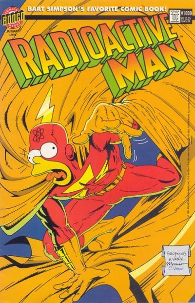 Cover for Radioactive Man (Bongo, 1993 series) #6 / 1000