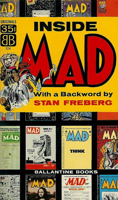 Cover for Inside Mad (Ballantine Books, 1955 series) #124