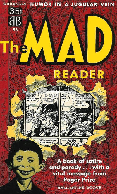 Cover for The Mad Reader (Ballantine Books, 1954 series) #93 [1]