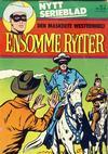 Cover for Ensomme Rytter (Hjemmet / Egmont, 1977 series) #1