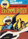 Cover for Ensomme Rytter (Hjemmet / Egmont, 1977 series) #3