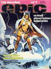 Cover for Epic (Semic, 1983 series) #1