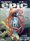 Cover for Epic (Semic, 1983 series) #4