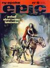 Cover for Epic (Semic, 1983 series) #6