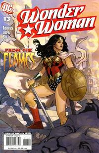 Cover Thumbnail for Wonder Woman (DC, 2006 series) #13