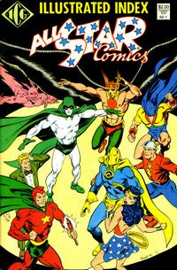 Cover Thumbnail for All Star Index (Independent Comics Group, 1987 series) #1