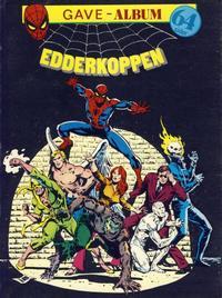 Cover Thumbnail for Edderkoppen gave-album [Nå kommer X-mennene...] (Atlantic Forlag, 1979 series)