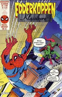 Cover Thumbnail for Edderkoppen klassikere (Semic, 1989 series) #3/1989