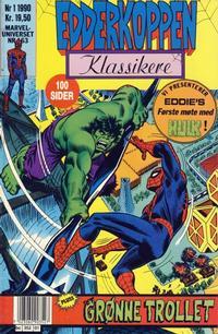 Cover Thumbnail for Edderkoppen klassikere (Semic, 1989 series) #1/1990