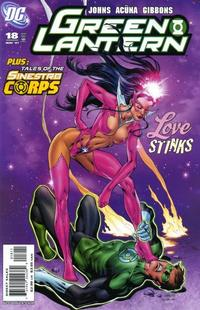 Cover for Green Lantern (DC, 2005 series) #18