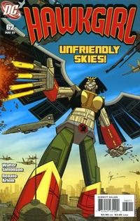 Cover Thumbnail for Hawkgirl (DC, 2006 series) #62