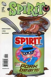 Cover Thumbnail for The Spirit (DC, 2007 series) #5