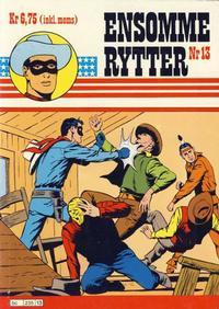 Cover Thumbnail for Ensomme Rytter (Hjemmet / Egmont, 1977 series) #13