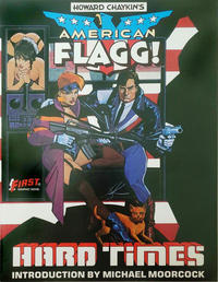 Cover Thumbnail for American Flagg!: Hard Times (First Comics Graphic Novel Number Three) (First, 1985 series)