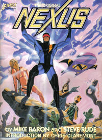 Cover Thumbnail for The Original Nexus (First Comics Graphic Novel Number Four) (First, 1985 series)